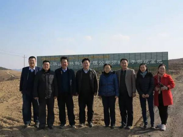 Economic forest management research group to Shandong Huashan agriculture and forestry science and Technology Co., Ltd. research